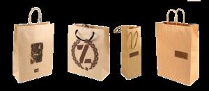 Пакеты из крафт бумаги с логотипом, Купить пакеты из крафтовой бумаги