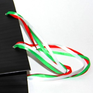 Ручки из лент для бумажных пакетов